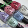 """China Glaze Avant Garden """"Pastel Petals"""" for Spring 2013 Swatches & Review"""