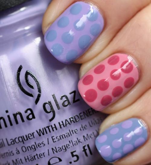 china-glaze-avant-garden-pastel-petals-polka-dot-nail-art