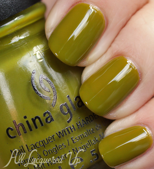 china glaze budding romance nail polish swatch avant garden spring 2013 China Glaze Avant Garden Blooming Brights for Spring 2013 Swatches & Review