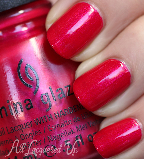 China Glaze Snap My Dragon Nail Polish Swatch