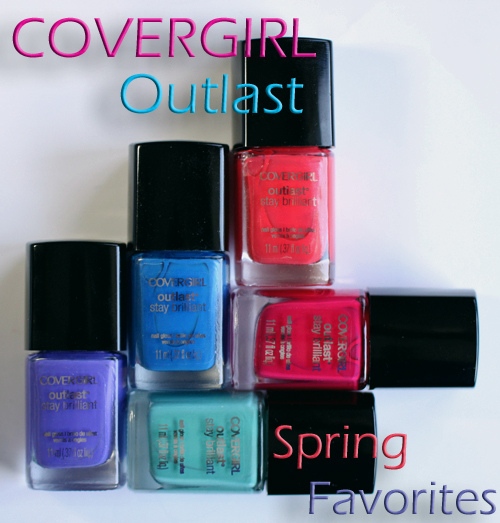 covergirl outlast nail polish spring 2013 trend colors My Fave COVERGIRL Outlast Nail Polish Shades for Spring 2013