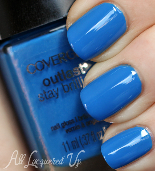 Cover Outlast Out Of The Blue Nail Polish