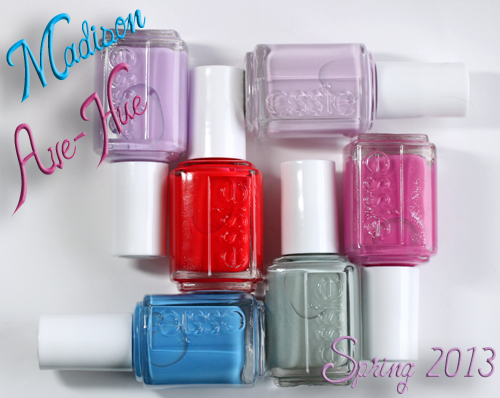essie madison ave hue spring 2013 nail polish collection Essie Madison Ave Hue Spring 2013 Collection Swatches & Review