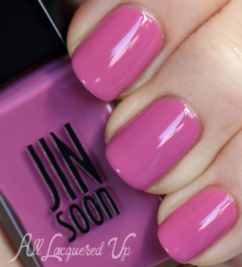 jin soon french lilac nail polish swatch botanical flowers spring 2013 JINsoon Botanical Flowers Spring 2013 Nail Polish Review & Swatches
