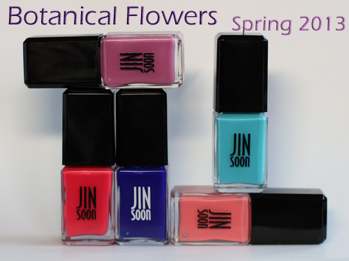 jinsoon jin soon nail polish botanical flowers spring 2013 a la mode JINsoon Botanical Flowers Spring 2013 Nail Polish Review & Swatches