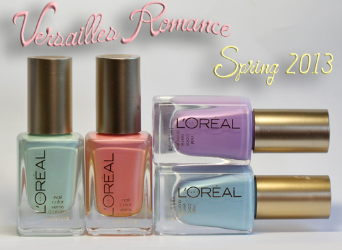 loreal paris versailles romance colour riche nail polish spring 2013 PinspiratioNAIL   Fishtail Nails with the LOréal Paris Versailles Romance Collection