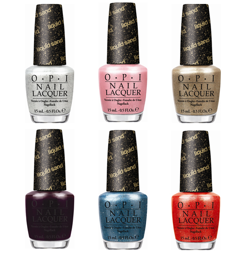 opi bond girls liquid sand nail polish collection Coming Soon   OPI Bond Girls Liquid Sand Collection