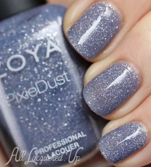 zoya nyx pixie dust nail polish swatch top coat glossy Zoya PixieDust Texture Nail Polish Swatches & Review