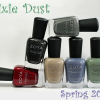 Zoya PixieDust Texture Nail Polish Swatches & Review