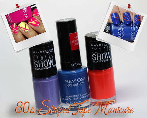 80s-striped-tape-manicure-revlon-colorstay-maybelline-color-show-nail-polish