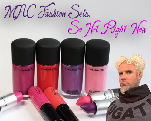 MAC Fashion Sets Spring 2013 MAC Fashion Sets Nail Lacquer Swatches & Review