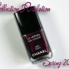 Treat Yo' Self – Chanel Taboo Le Vernis Review, Swatch and Comparisons