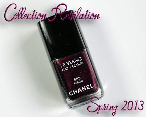 chanel taboo le vernis collection revelation Treat Yo Self   Chanel Taboo Le Vernis Review, Swatch and Comparisons