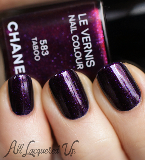 Chanel Taboo Le Vernis Nail Polish Swatch