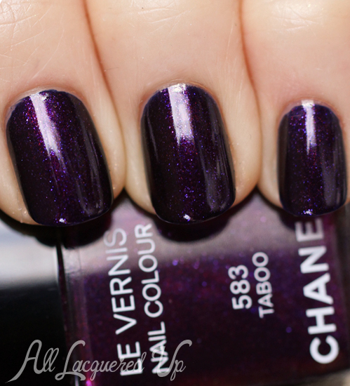 Chanel Taboo Le Vernis Swatch