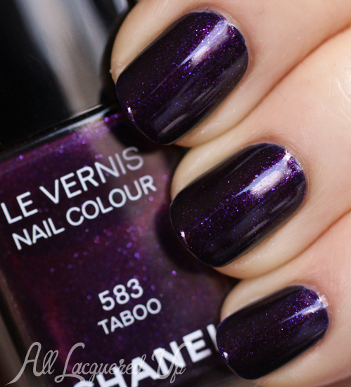 Treat Yo\' Self - Chanel Taboo Le Vernis Swatch & Comparisons : All ...