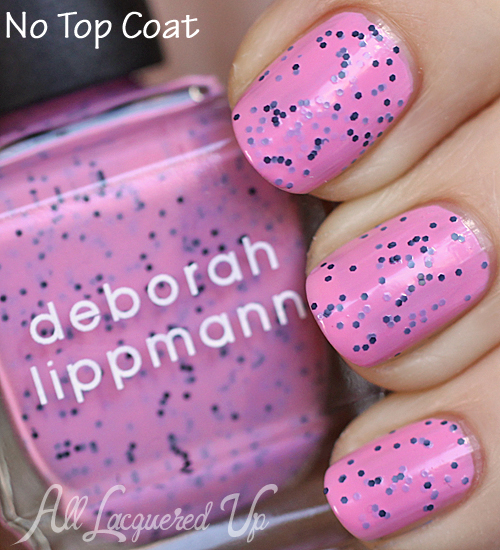 deborah-lippmann-im-not-edible-speckled-nail-polish-swatch