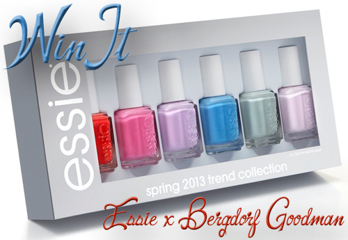 Win it! - Essie x Bergdorf Goodman Spring 2013 nail polish collection