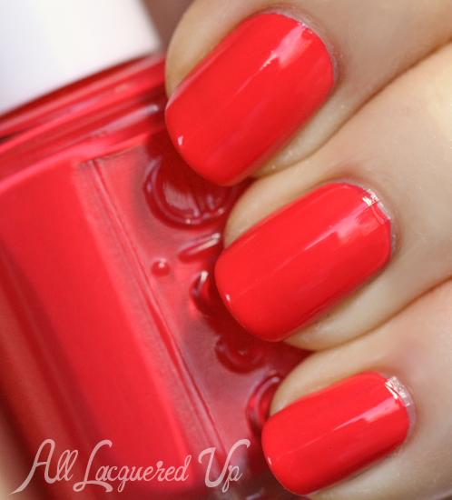 Essie Come Here nail polish swatch