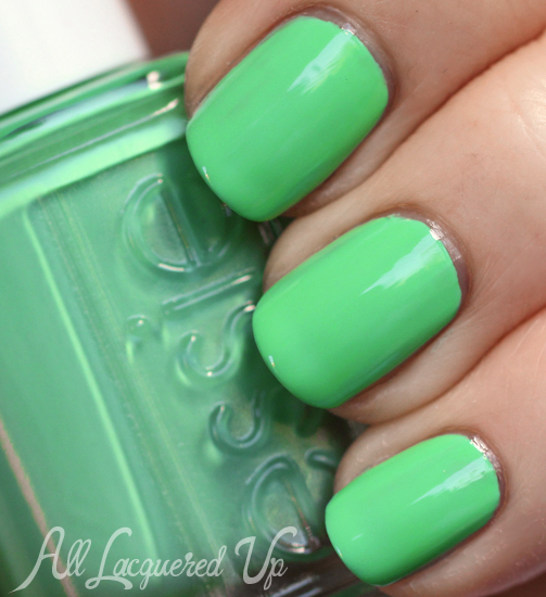 Essie First Timer nail polish swatch