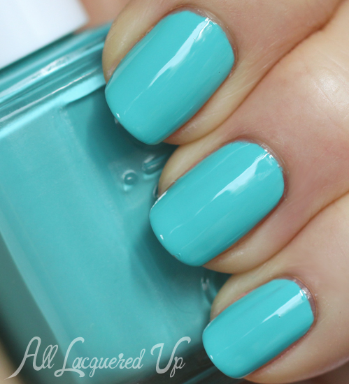 Essie In The Cab-ana nail polish swatch