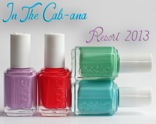 essie in the cab ana resort 2013 nail polish collection Essie Resort 2013 In The Cab ana Nail Polish Swatches & Review