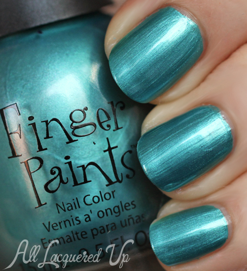 FingerPaints Hoppy Go Lucky nail polish swatch