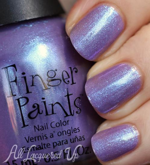 FingerPaints Itsy Bitsy Spider nail polish swatch