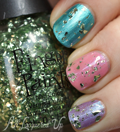 FingerPaints Owlin' At The Moon nail polish swatch