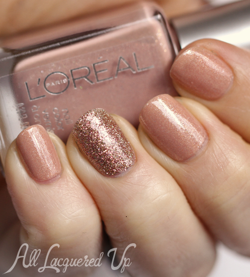 mani-monday-loreal-so-chic-china-glaze-champagne-kisses-nail-polish-swatch