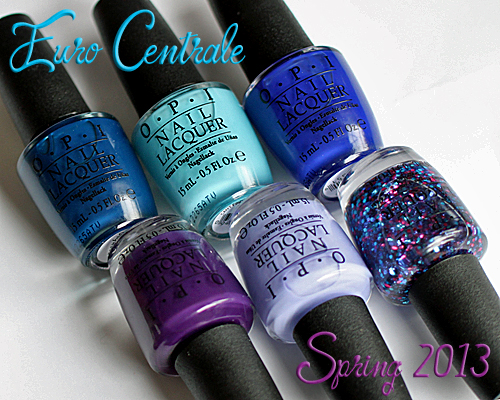 opi euro centrale spring 2013 nail polish collection OPI Euro Centrale Spring 2013 Nail Polish Collection Swatches & Review   Part 1