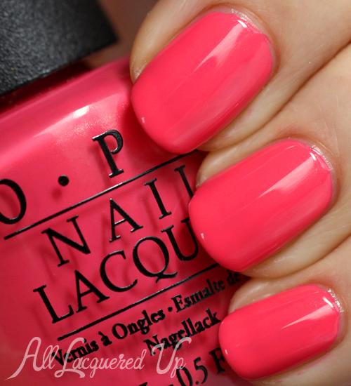 OPI Suzi's Hungary Again! nail polish swatch