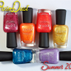 Zoya PixieDust Summer 2013 Nail Polish Swatches, Review & GIVEAWAY