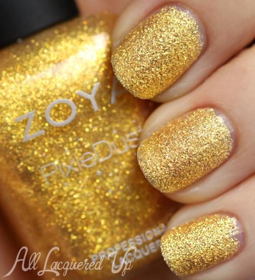 Zoya Solange PixieDust nail polish swatch