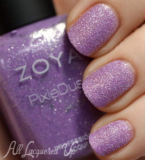 Zoya Stevie PixieDust nail polish swatch