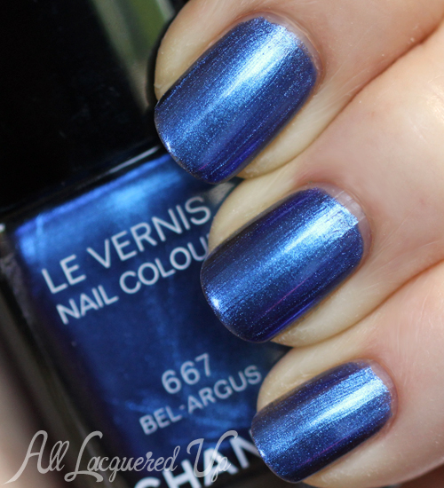 Chanel Bel-Argus Le Vernis nail polish swatch