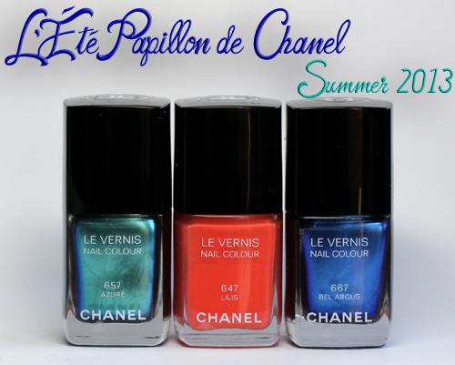 Chanel Summer 2013 L'Eté Papillon de Chanel Le Vernis