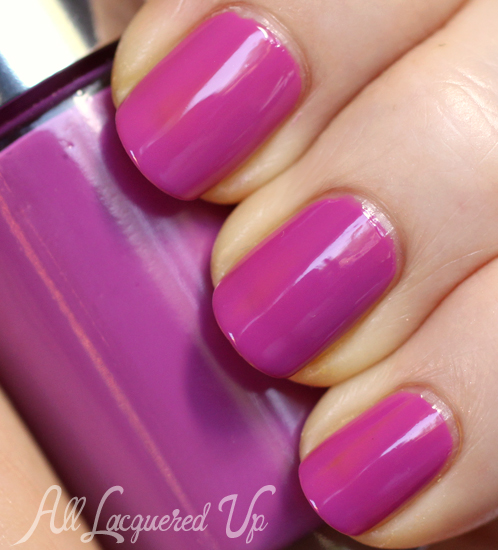 Clinique Grape Ice nail polish swatch
