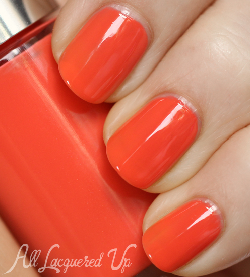 Clinique Juiced Up nail polish swatch