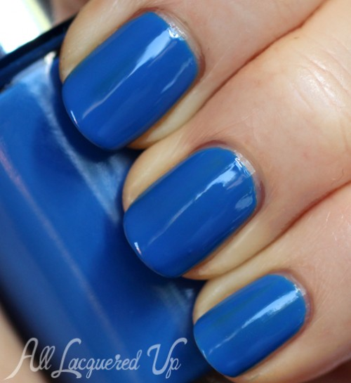 Clinique Splish Splash nail polish swatch