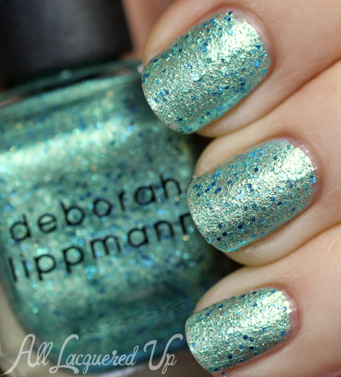 Deborah Lippmann Mermaid's Dream nail polish swatch