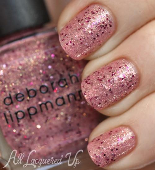 Deborah Lippmann Mermaid's Kiss nail polish swatch