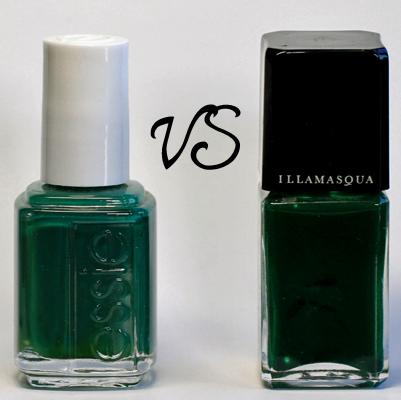 Essie Going Incognito Illamasqua Rampage #EmeraldMadness