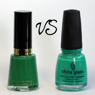 Revlon Posh China Glaze Four Leaf Clover #EmeraldMadness