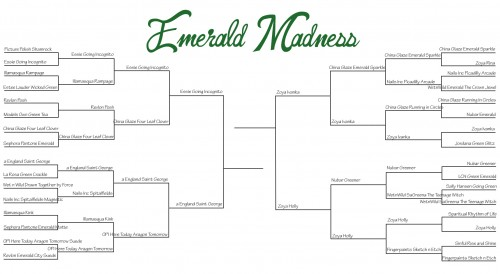 emerald madness bracket round 4 500x274 Emerald Madness Final Four   Vote Now!