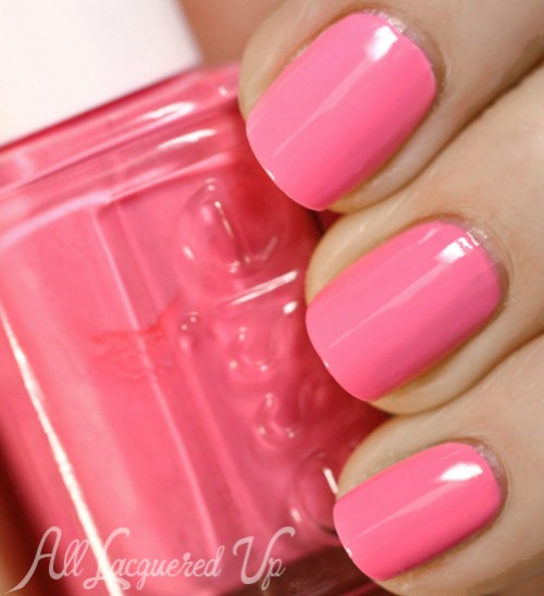 Essie Neons 2013 Nail Polish Collection Swatches  amp  ReviewNeon Pink Nail Polish Essie