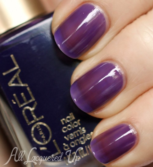 L'Oreal Paris Berry Nice jelly nail polish swatch