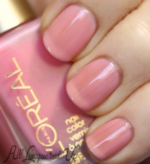 L'Oréal Paris Bubble Trouble jelly nail polish swatch