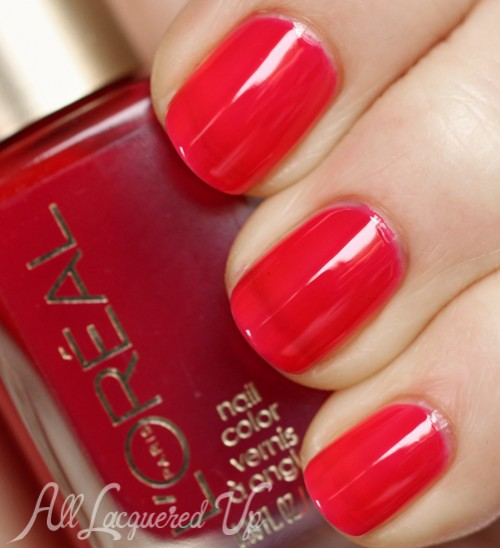 L'Oréal Paris Jolly Lolly jelly nail polish swatch
