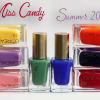 "L'Oreal Paris ""Miss Candy"" Colour Riche Nail Polish Collection Swatches & Review"